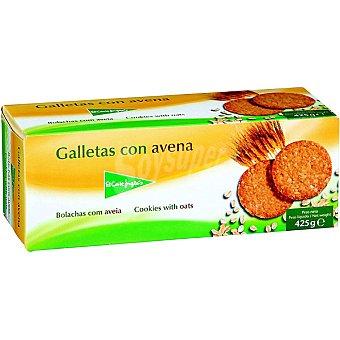 El Corte Inglés Galletas con avena Paquete 425 g