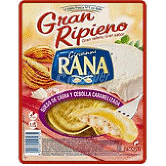 CABRA Pasta gran ripieno rana queso de y cebolla caramelizada 250 GRS