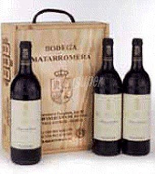 Matarromera Estuche de vino crianza D.O. Ribera del Duero pack de 3x75 cl