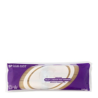King Soba Pasta instantánea mijo arroz - Sin Gluten 250 g