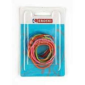 Eroski Gomas de colores Pack 12 unid