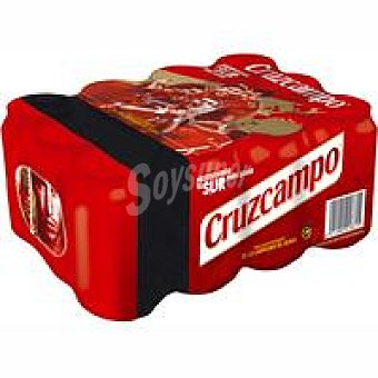 Cruzcampo Cerveza Pack 9+3x33 cl
