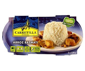 Carretilla Arroz basmati 2 unidades 125 gramos