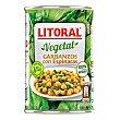 Garbanzos con espinacas 425 g Litoral