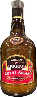 Royal Swan Crema whisky Botella de 70 cl