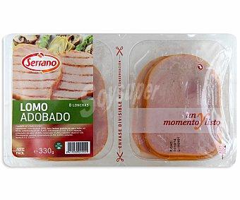 Carnicas Serrano Lomo cocido adobado sin gluten 330 g
