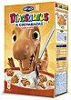 Galletas con cereales y vitaminas con formas de dinosaurios Caja de 350 g Dinosaurus Artiach