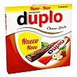 Duplo de barrita de chocolate con leche Caja 91 g (5 u) Ferrero