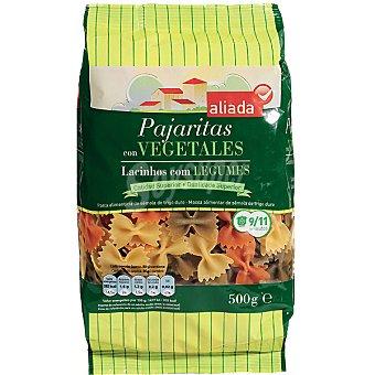 Aliada pajaritas con vegetales paquete 500 g
