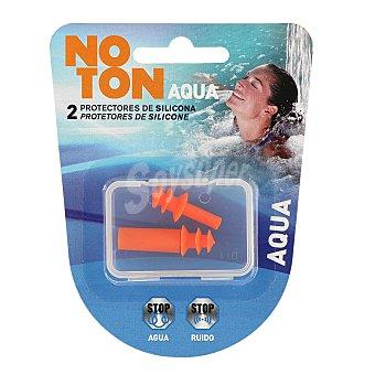 Noton Tapones aqua de silicona para oídos blíster 2 uds Blíster 2 uds