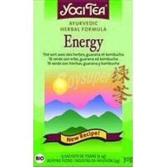Yogi Tea Tea verde energía Caja 34 g