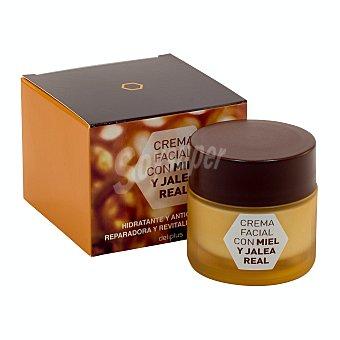Deliplus Crema facial miel y jalea real Tarro 50 ml