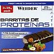 Barrita 25% proteínas sabor avellana envase 105 g pack 3 barritas Weider