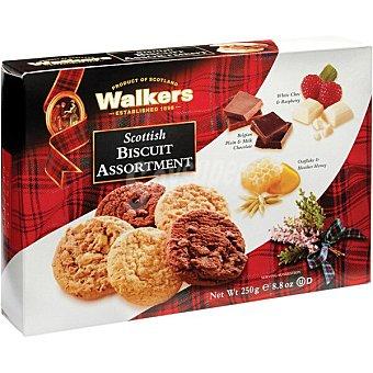 WALKERS Scottish galletas surtidas de mantequilla  estuche 250 g