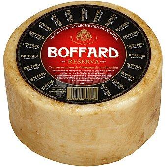 Boffard Queso viejo seserva de leche cruda de oveja peso aproximado pieza 1 kg