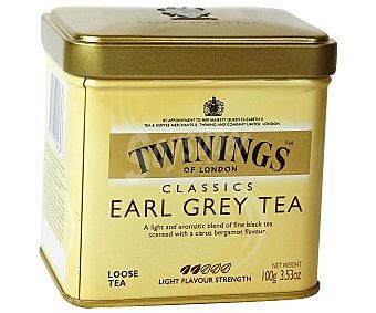 Twinings Té Earl Grey Lata 100 g