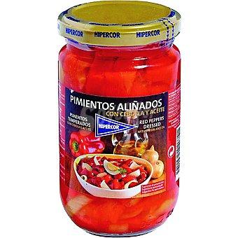 Hipercor Pimientos aliñados especial para ensaladas Frasco 280 g