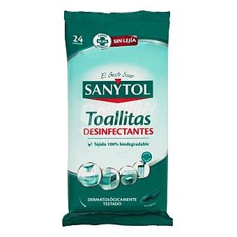 Sanitol Toallitas Desinfectantes Multiusos 24 Unidades