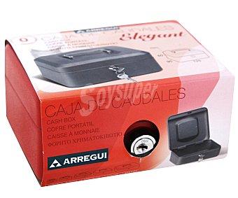 ARREGUI Caja de Caudales T0 con Sistema de Apertura y Cierre Mediante Llave. 125x60 Milímetros 1 Unidad