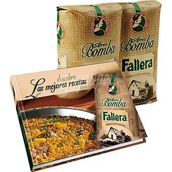 La Fallera Arroz bomba edición limitada Pack 2 envases 1 kg