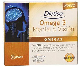 DIETISA Complemento alimenticio mental y visión 45 comprimidos