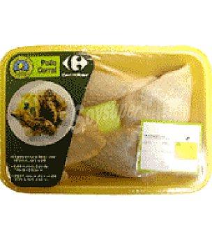 Carrefour Calidad y Origen Traseros de pollo Bandeja de 750.0 g.