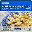 Almeja chilena al natural 15/22 piezas Lata 63 g Eroski