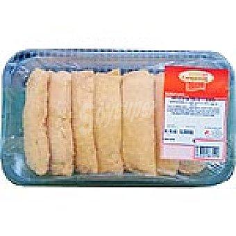 CAMPORAL Rollitos rellenos de jamón y queso Bandeja 500 g