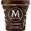 Helado clásico con fragmentos de chocolate Tarrina 297 gr Magnum Frigo