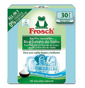 FROSCH Lavavajillas máquina pastillas todo en 1 30 ud