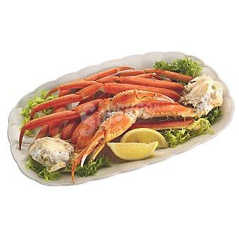 Pechos de cangrejo grandes crudos
