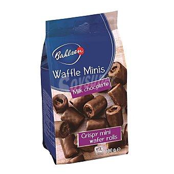 Bahlsen Galletas choco waffle minis Bolsa 100 grs