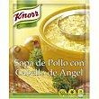 Sopa de pollo con cabello de ángel Sobre 75 g Knorr