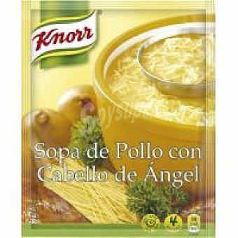 Knorr Sopa de pollo con cabello de ángel 71 g
