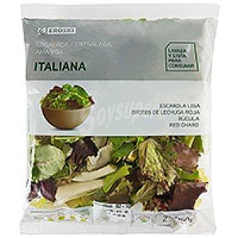 Eroski Ensalada italiana Bolsa 150 g