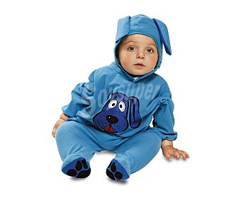 My other me Disfraz de perrito azul para bebé, talla 7-12 meses 1 unidad