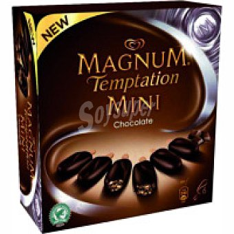 Frigo Magnum Mini Temptation de chocolate Pack 6x50 ml