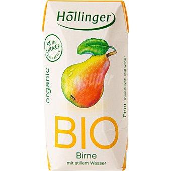 HOLLINGER Zumo de pera bio 3 unidades de 200 ml