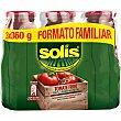 tomate frito formato familiar neto escurrido pack 3 frasco 360 g Solís