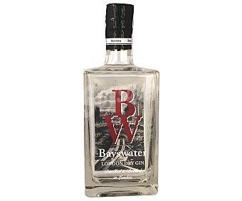 BAYSWATER Ginebra inglesa tipo London dry gin Botella de 70 centilitros
