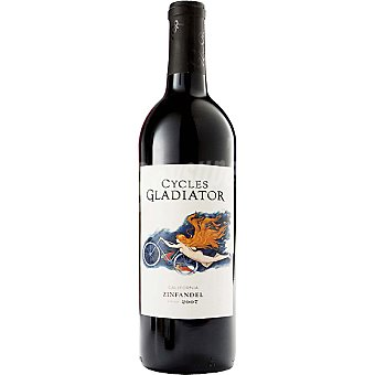 CYCLES GLADIATOR Vino tinto Zinfandel California Botella 75 cl