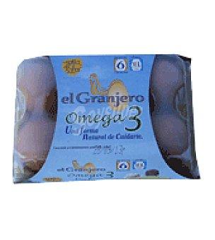 El Granjero Huevos con Omega 3 6 unidades