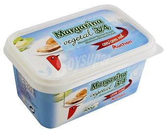 Auchan Margarina vegetal con sal Tarrina de 500 gramos