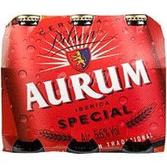 Cervezas Aurum Cerveza especial Pack 6x25 cl
