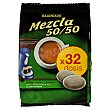 Cafe monodosis (compatible con cafetera sistema senseo) mezcla Paquete 32 unidades Hacendado