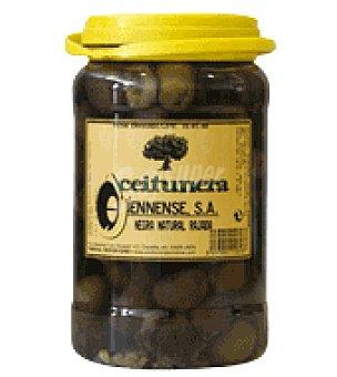 Aceitunera Jiennense Aceituna negra rallada natural aceitunera 800 g