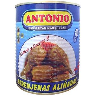 Antonio Berenjenas aliñadas D.O. Almagro Lata 400 g neto escurrido