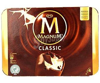 Magnum Frigo Helado classic Pack 4 unidades de 120 mililitros