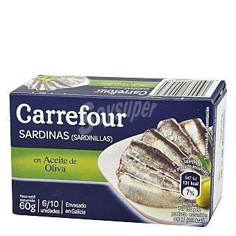 Carrefour Sardinillas en aceite de oliva 60 g