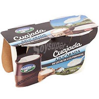 Goshua Cuajada de vaca azucarada Pack 2x125 g